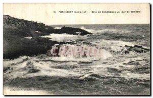Old Postcard Pornichet Congrigoux Approval A Day Storm