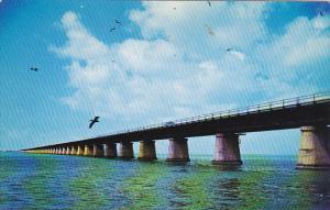 Seven Mile Bridge On Overseas Highway To Key West Florida