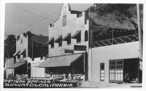 1920s Fetters Springs Sonoma California Peck RPPC Real Photo