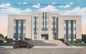 Warren County Court House Completed 1940 Vicksburg Mississippi