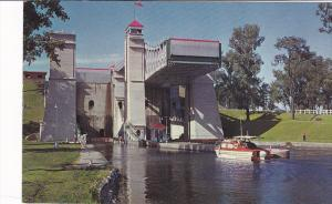 Hydraulic Lift Lock , PETERBOROUGH , Ontario , Canada , 50-60s