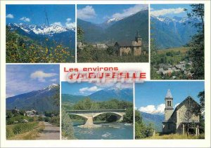 Postcard Modern Surroundings of Aiguebelle in Maurienne (Savoy) the Chain of ...