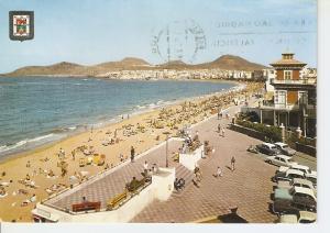 Postal 050058 : Las Palmas de Gran canaria. Playa Las Canteras