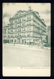 Hartford, Conn/CT Postcard, Connecticut Mutual Building