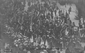 Munich~Munchen~Germany~Pageant//Festival of Gums~Feiners of Bielefeld 1906 RPPC
