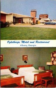 Postcard Oglethorpe Motel and Restaurant in Albany, Georgia~132350