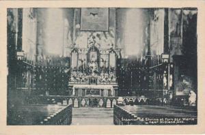 Interior ,Martyr´s Shrine , MIDLAND , Ontario , Canada ,30-40s