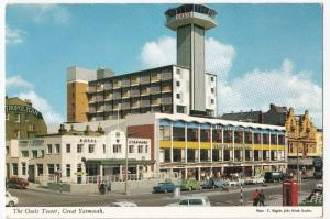 Norfolk; The Oasis Tower, Great Yarmouth PPC By John Hinde, Unposted, c 1960's