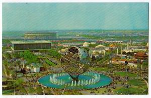 Unisphere, NY Worlds Fair 1964-65
