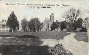 Lansing Michigan~Industrial School for Boys (Center of Campus View)~1911 Pc
