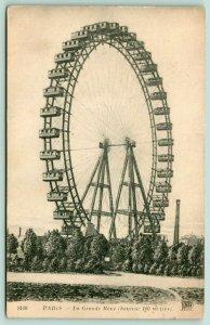 Paris France~La Grande Roue~100 Metre Exposition Ferris Wheel~c1905 Artist PC