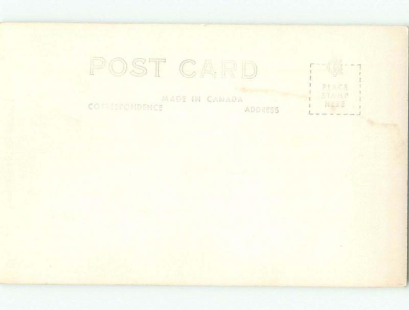 Pre-1962 rppc BOATS DOCKED Prince Rupert British Columbia BC W1007
