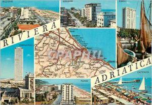 Postcard Modern Italia Riviera Adriatica