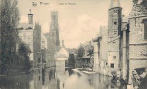 Belgium Bruges Quai du Rosaire 02.66