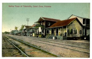 Panama - Canal Zone. Tabernilla, Native Town
