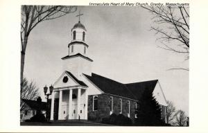 MA - Granby. Immaculate Heart of Mary Church