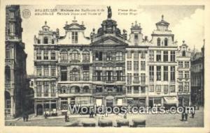 Bruxelles, Belgium, België, la Belgique, Belgien Maisons des Tailleurs et de...