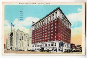 Hotel Fort Wayne, Detroit MI