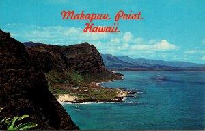 Hawaii Oahu Makapuu Point Showing Sea Life Park