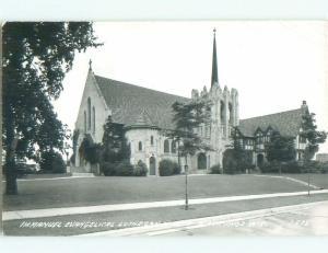 Pre-1950 rppc NICE VIEW Manitowoc Wisconsin WI W0242