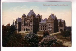 Parliament Buildings, Toronto, Ontario, Valentine & Sons, Printed in Great Br...