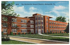 Martinsville, Va, The Martinsville General Hospital