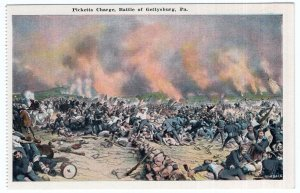 Picketts Charge, Battle of Gettysburg, Pa.