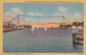 New York Rochester Charlotte Harbor 1954 Curteich