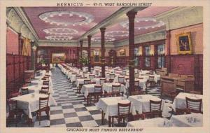 Illinois Chicago Henricis West Randolph Street Chicagos Most Famoues Restaurant