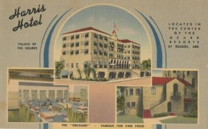 ROGERS , Arkansas, 1930-40s ; Harris Hotel