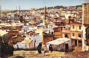 Morocco Maroc Tanger, Vue generale, Marruecos, Vista general 1924