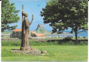 England.  Holy Island Lindisfarne.