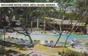 Georgia Jekyll Island Buccaneer Motor Lodge Swimming Pool