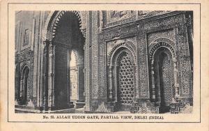India Allah Uddin Gate, Partial View, Delhi