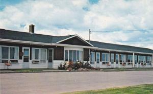 Exterior View, Flowers Outside Mid Isle Motel and Coffee Shop, Bedeque, Princ...