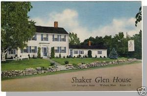 Woburn, Massachusetts/MA/Mass Postcard, Shaker Glen House
