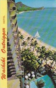 Hawaii Oahu The Outrigger Hotel Located On the Beach in The Heart Of Waikiki