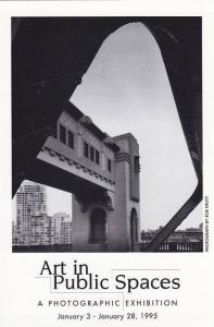 Art in Pubic Spaces , Vancouver , B.C. , Canada, 1996