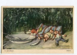 264551 SIESTA Sleeping GMOME by HOGFELDT Vintage COMIC PC