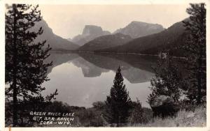 Cora Wyoming Green River Lake Real Photo Antique Postcard K77898