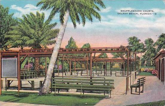 Florida Delray Beach Shuffleboard Courts
