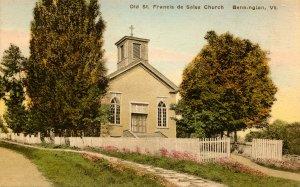 VT - Bennington. Old St Francis de Sales Church