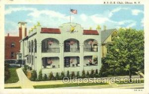 Fraternal Elks Club (B.P.O.E.) Postcard Post Card