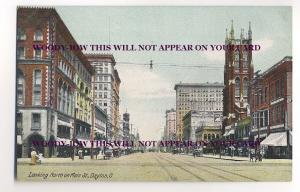 ft514 - Main Street , Dayton , Ohio , USA - postcard
