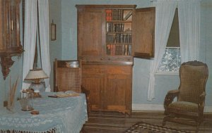AMANA, Iowa, 1950-60s; Restored Amana Home Sitting Room, as lived in by socie...