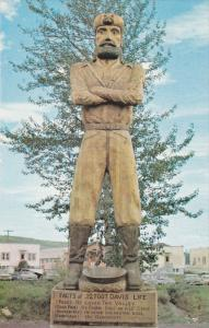 PEACE RIVER, Alberta, Canada, 1940-1960's; Twelve Foot Davis