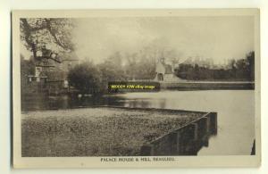 tp2657 - Palace House & Mill , Beaulieu , Hampshire - postcard
