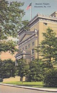Pennsylvania Allentown The Masonic Temple