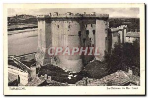 Old Postcard Tarascon Chateau du Roi Rene