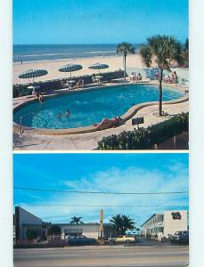 Unused Pre-1980 OLD CARS & HOLIDAY SHORES MOTEL St. Saint Petersburg FL s5583